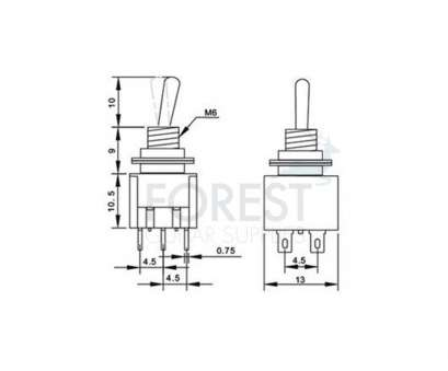 Mini Toggle Switch Wiring Simple Spst Toggle Switch Wiring