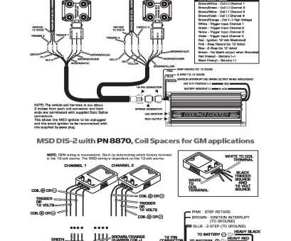 18 New Msd, Wiring Diagram With, Distributor Solutions