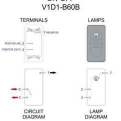 Carling Technologies Rocker Switch Wiring Diagram Guitar 3 Way On Momentary Toggle Practical Top Throughout