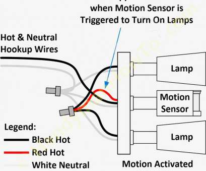 Pir Light Switch 2 Wire Most Charming, Sensor 2Wire Wiring