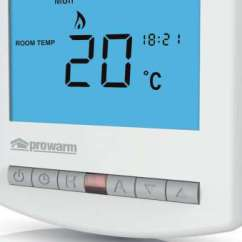 Underfloor Heating Wiring Diagram Controls Activity Shapes Prowarm Thermostat Creative High Output Top Thermostats Galleries