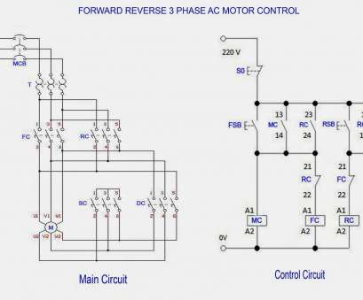 19 Popular Reversing Motor Starter Wiring Diagram Ideas