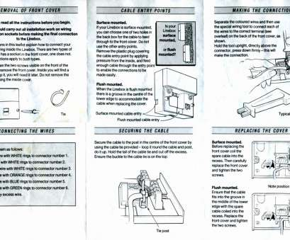 Trailer Brake, Light Wiring Diagram Creative 2002