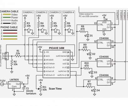 Security Camera Wiring Diagram Creative Security Camera