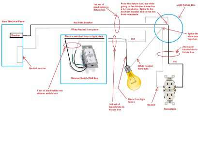 gfci outlet wiring diagrams chevy steering single diagram most switches electrical light fixture