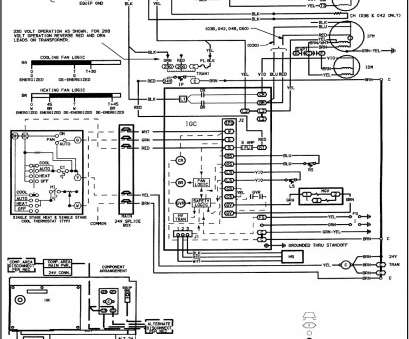 Single Stage Thermostat Wiring Diagram Practical Gas
