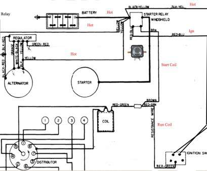 Starter Wiring Diagram, Chevy 350 New 1982, Chevy Engine