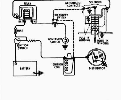 Starter Wiring Diagram, Chevy 350 Professional Hei