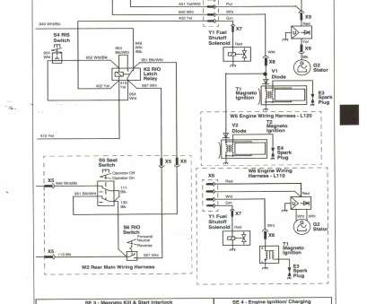 Starter Wiring Diagram, Lawn Mower Professional 6 Prong