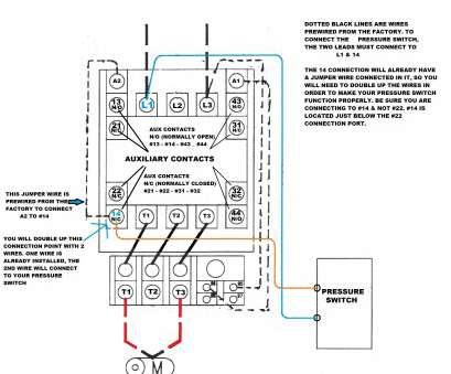 Three Phase Starter Wiring Diagram Cleaver 3 Phase Motor
