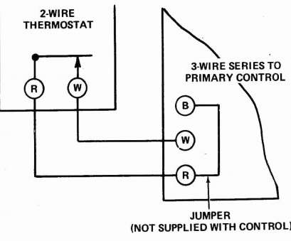 3 Wire Room Thermostat Wiring Diagram