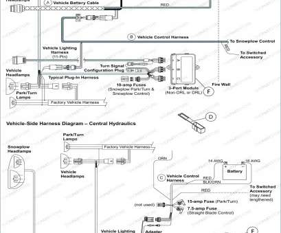 Snow Plow Light Wiring Diagram Head \u2013 Vehicle Wiring ...  Port Fisher Wiring Diagram on