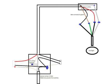 Wiring, A Ceiling Exhaust, And Light Practical