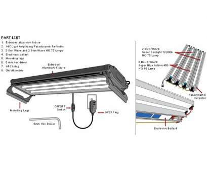 Wiring A Fluorescent Light Fixture Simple Fluorescent