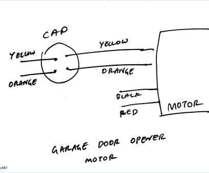 Wiring Diagram, Ceiling, Capacitor Practical 3 Sd 4 Wire