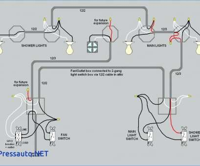 Wiring Light Switch To Outlet And Light Diagram