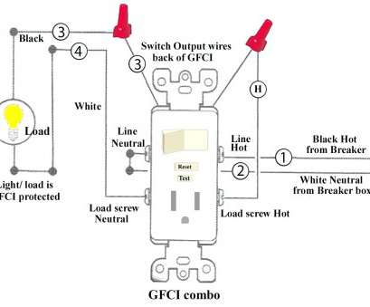 Wiring Gfci Outlet Diagram Cleaver Three Prong Plug Wiring