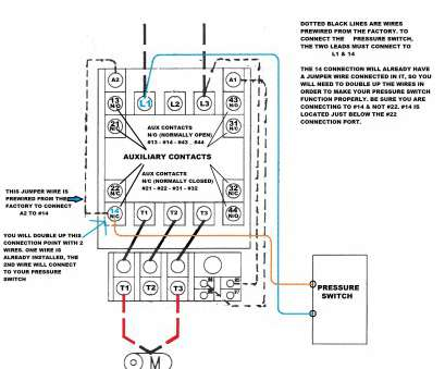 Wiring, Phase Switch Brilliant New 3 Phase Contactor