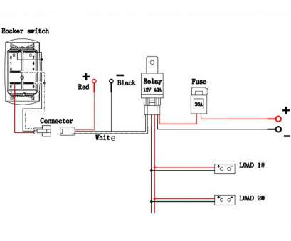 12 Volt Single Pole Toggle Switch Wiring Diagram