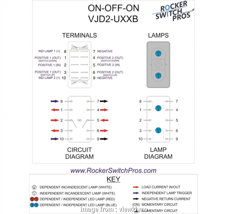 hight resolution of toggle switch wiring 6 pin 6 5 rocker switch wiring diagram