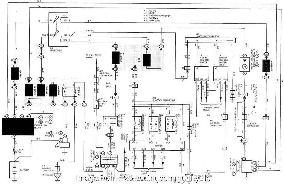 Toyota Mark X Electrical Wiring Diagram Most 1992 Toyota
