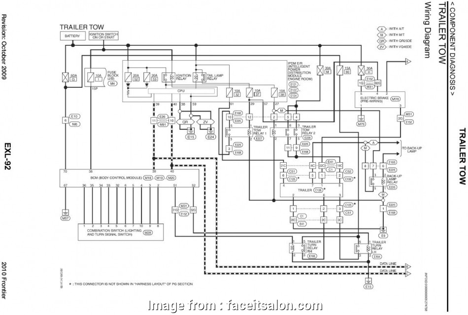Trailer Brake Wiring Harness Diagram New Nissan Frontier
