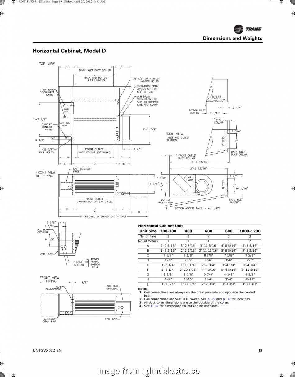 Trane Xt500C Thermostat Wiring Diagram Popular Carrier