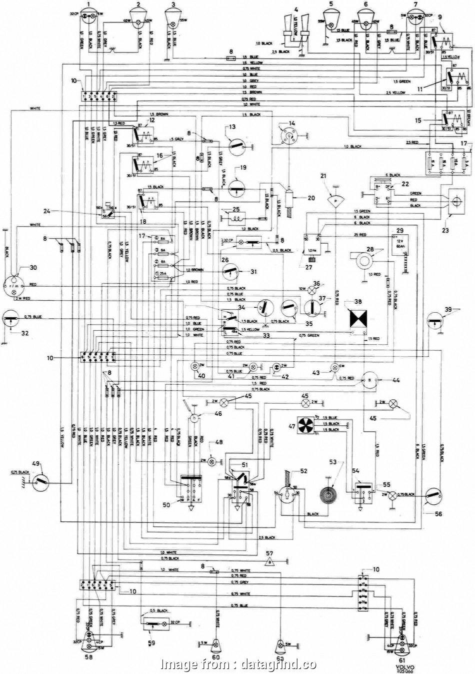 hight resolution of volvo truck starter wiring diagram volvo wiring diagram starter wiring diagram u2022 rh growbyte co