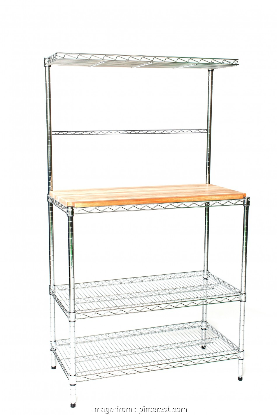 Wire Shelving With Butcher Block Top Top 14
