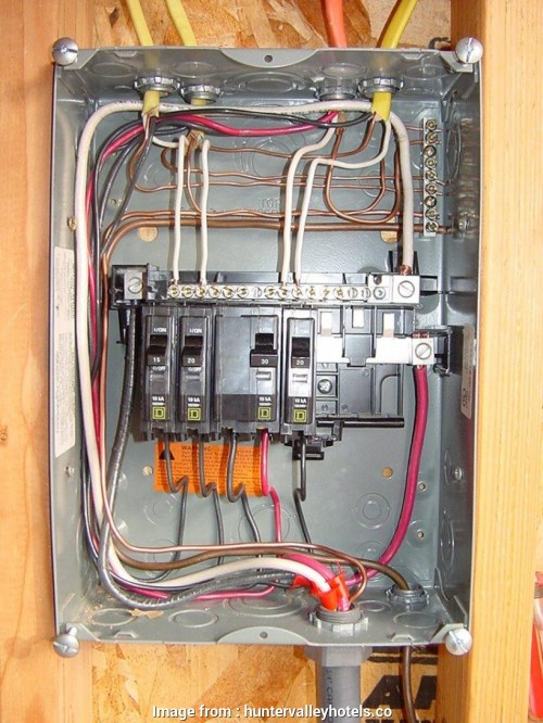 small resolution of wire size 100 amp sub panel square d qo amp 6 space 12 circuit indoor