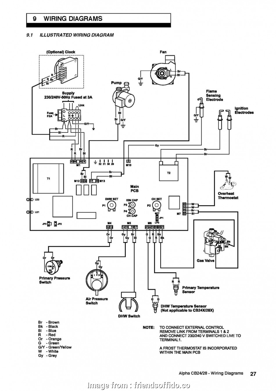 Wiring A Boiler Switch Brilliant Combi Boiler Schematic