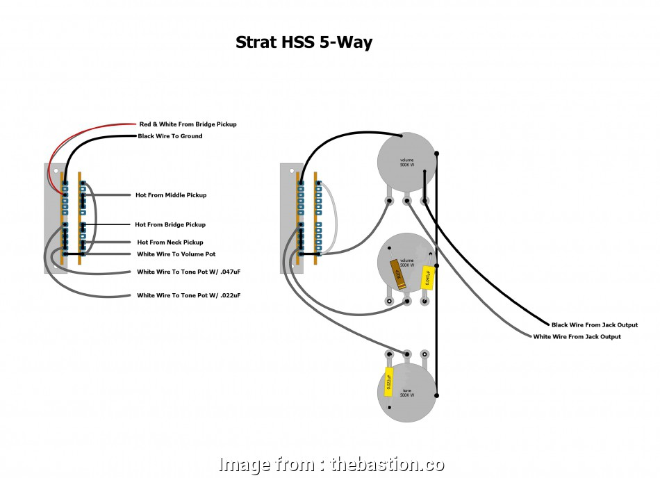 Wiring A Strat 5, Switch Brilliant Strat Selector Wiring