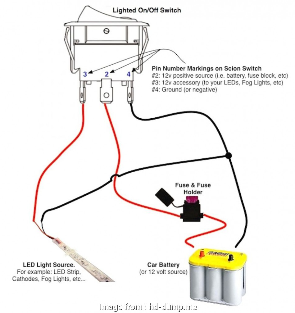 Wiring A Switch 12 Volt New Wiring Diagram 12 Volt Lighted