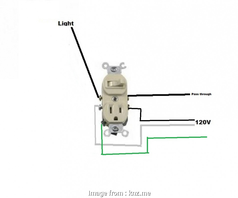Wiring A Switch, Receptacle Creative Switch Outlet