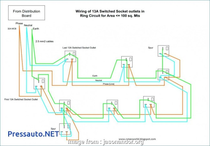 diagram multiple outlets in series diagram hd version
