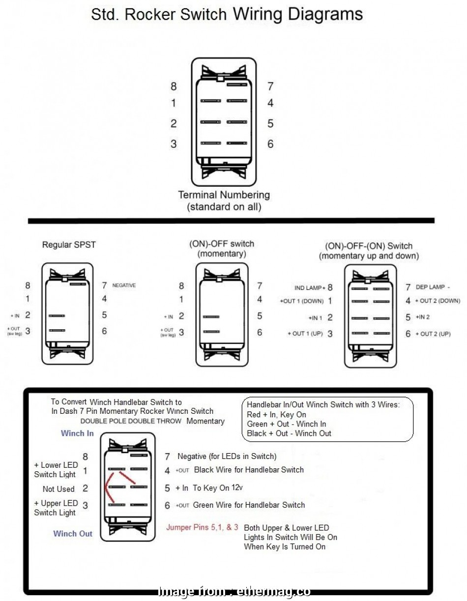 Wiring Diagram 3, Switch, Lights New Toggle Switch, Winch
