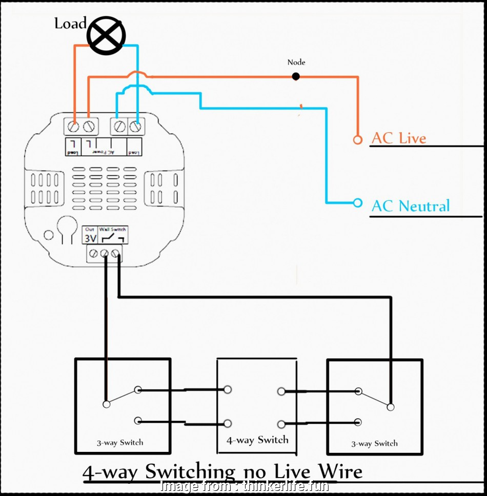 Wiring Diagram, 3, Switch With Dimmer Top Wiring Diagram 3