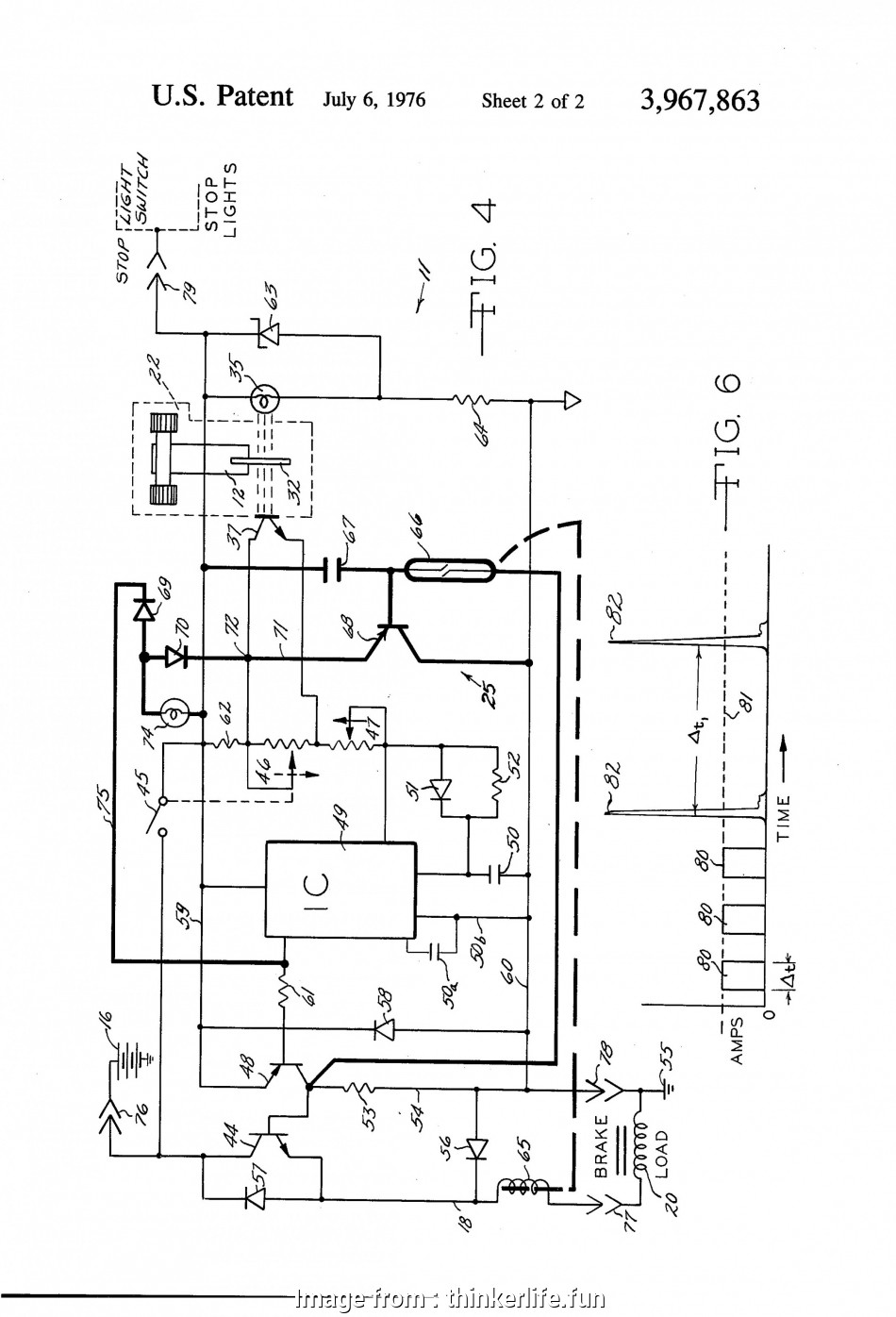 Wiring Diagram, A Trailer Brake Practical Brake Controller