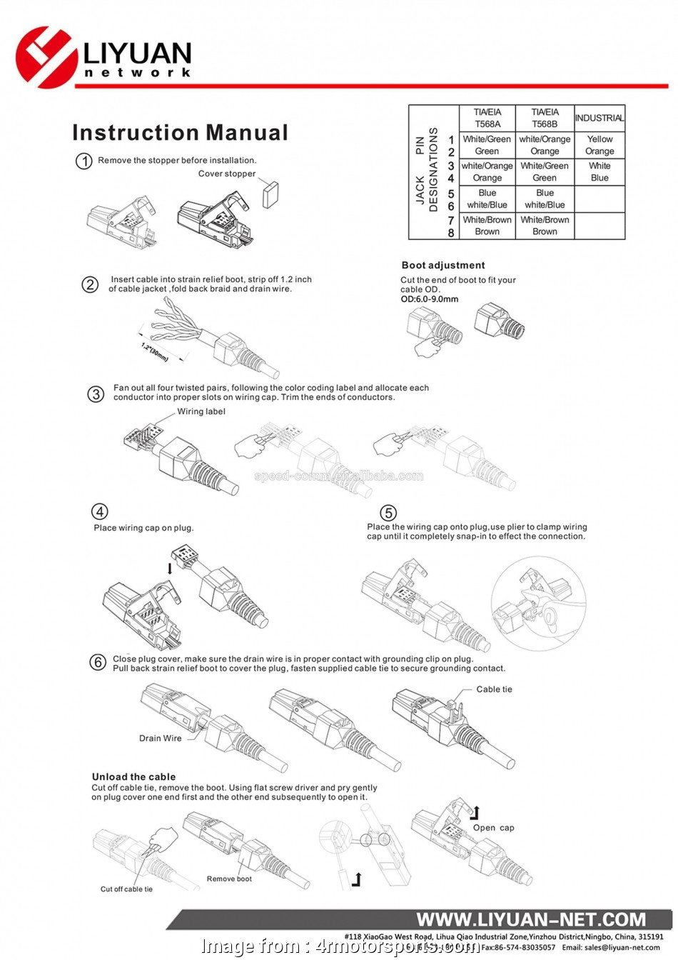 Rj11 To Rj45 Wiring Diagram For Your Needs