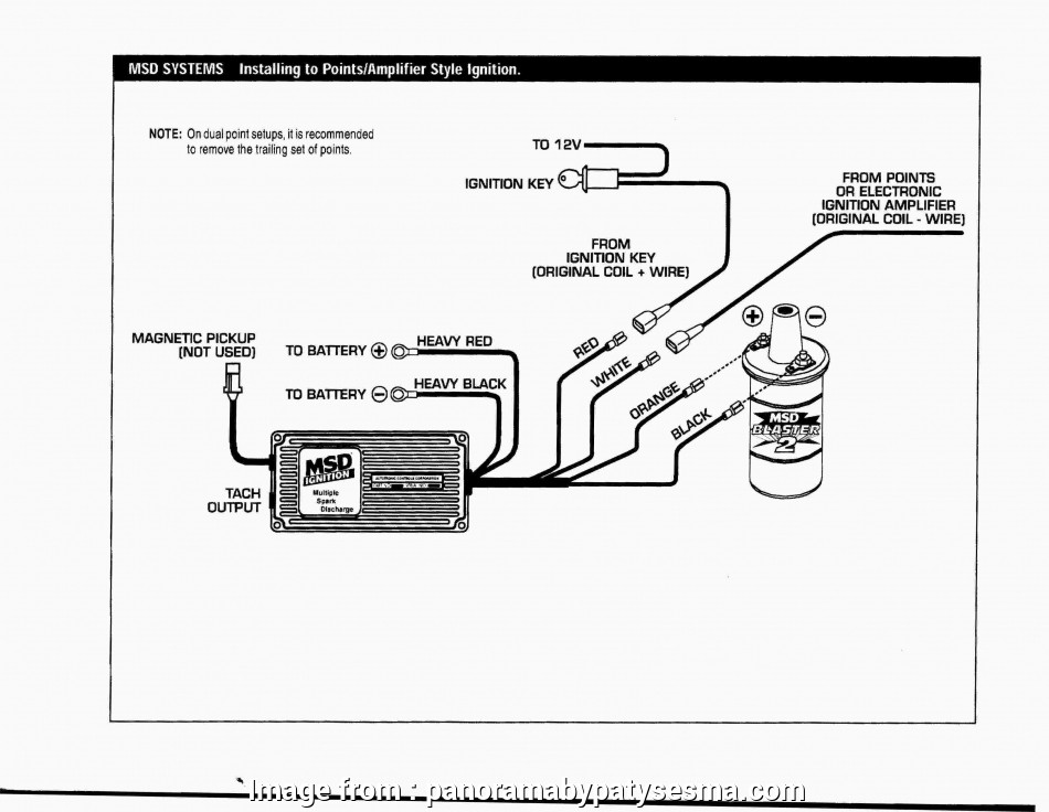 Wiring Diagram, Msd, Ignition Popular Points Ignition