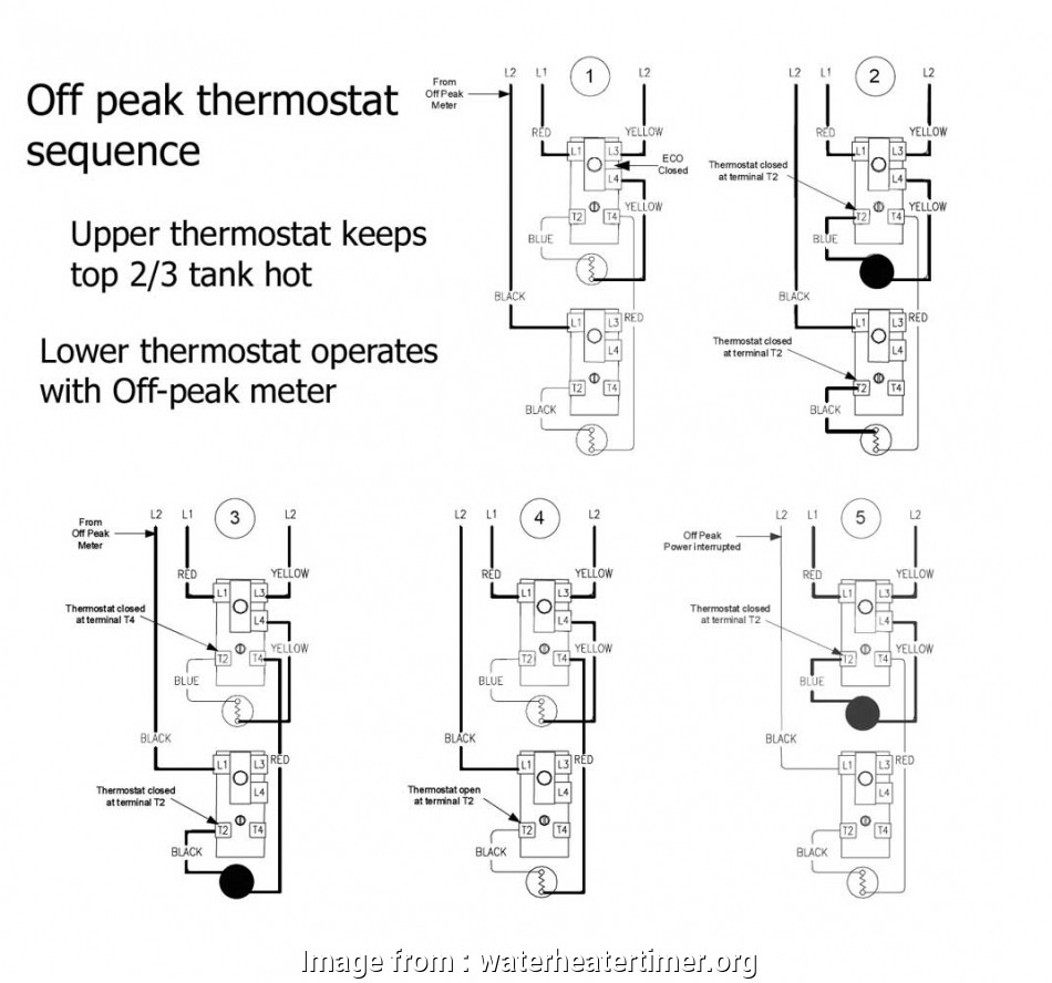 medium resolution of wiring diagram of thermostat how to wire water heater thermostats wiring diagram of thermostat best how