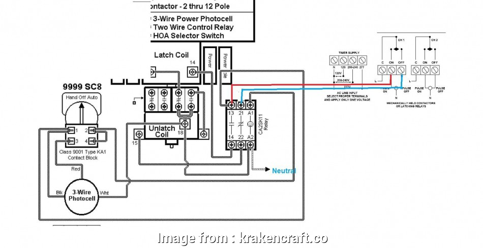 Wiring Diagram Photocell Light Switch New Lighting