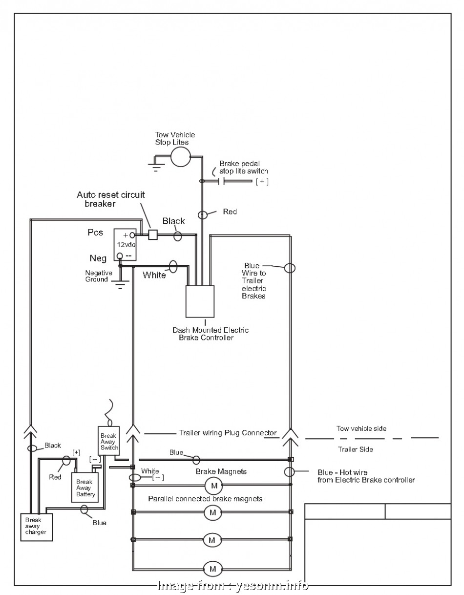 Wiring Diagram, Utility Trailer With Electric Brakes