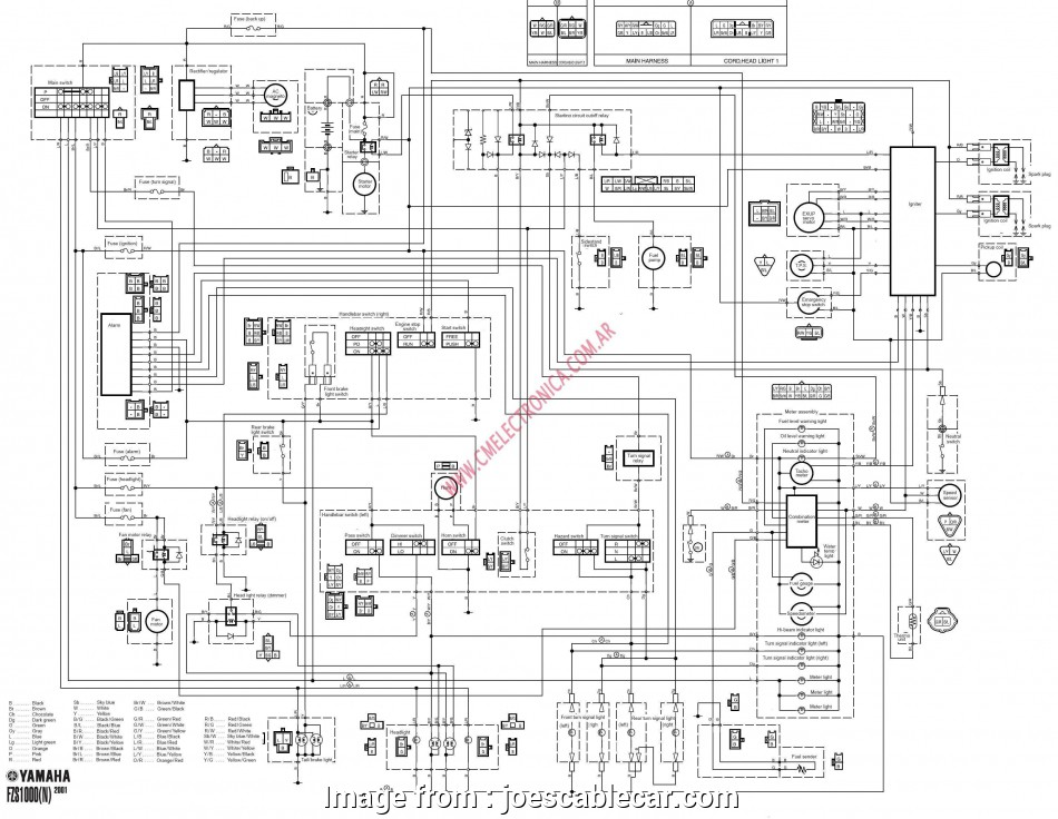 19 Popular Wiring Diagram Yamaha, 135 Electrical Galleries