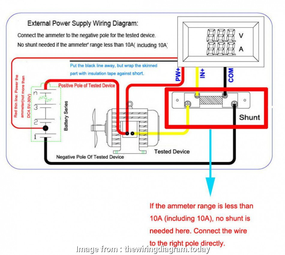 hight resolution of  auto ammeter wiring diagram on ammeter shunt wiring ammeter symbol circuit diagram
