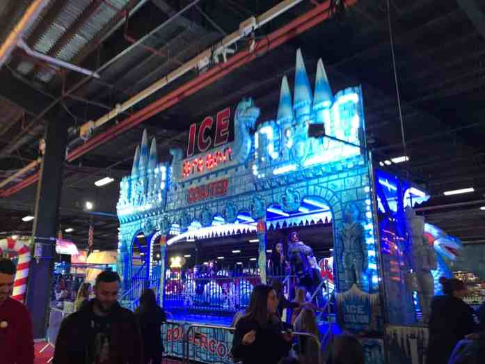 Ice Dragon Coaster at Winter Funland