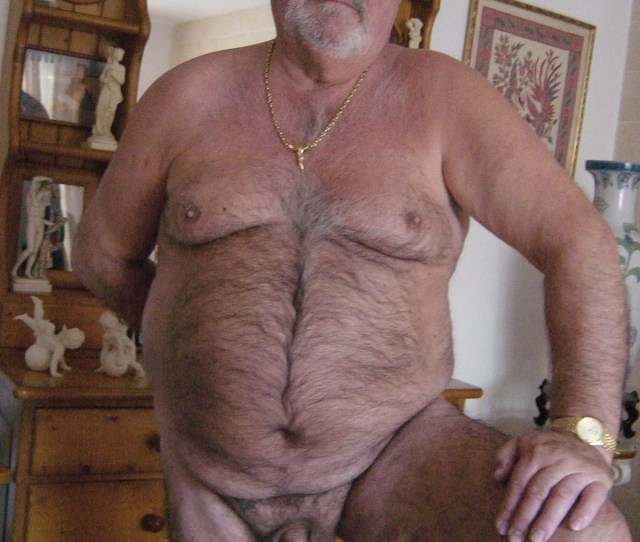 Hairy Mans Wank For All Man