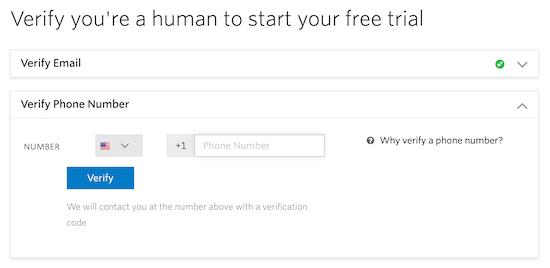 Verificar la cuenta de Twilio