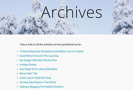 Listar todas las publicaciones en WordPress