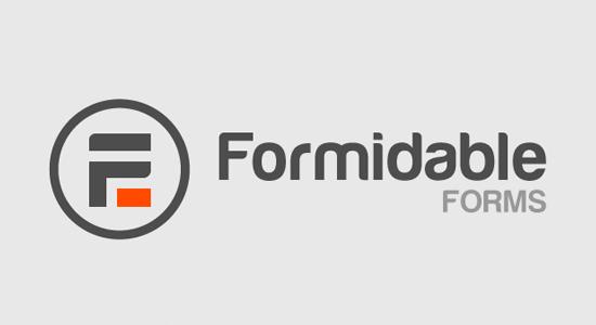 Formidable Forms Formulario avanzado de WordPress plugin